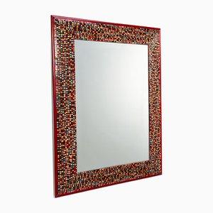 Specchio Loredan in vetro di Murano di Stefano Birello per VéVé Glass, 2018