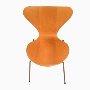 Sillas de Arne Jacobsen, años 70. Juego de 6
