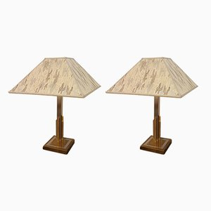 Hollywood Regency Table Lamps, 1970s, Set of 2