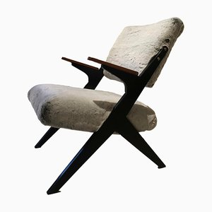 Mid-Century Swedish Armchair by Bengt Ruda for Nordiska Kompaniet