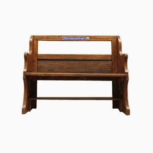 Antique Church Bench