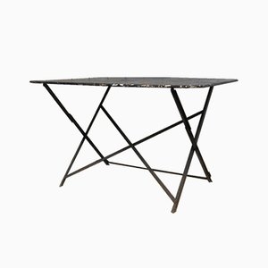 Table de Jardin Bistro Pliante Vintage