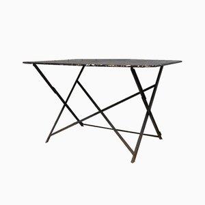 Vintage Folding Bistro Garden Table