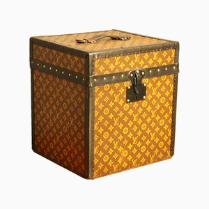 Stenciled Monogram Hat Trunk by Louis Vuitton, 1930s
