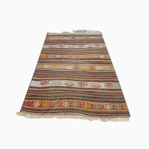 Small Anatolian Wool Kilim, 1970s