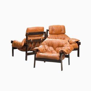 Moderner Mid-Century Sessel-Set aus Palisander von Percival Lafer, 3er Set
