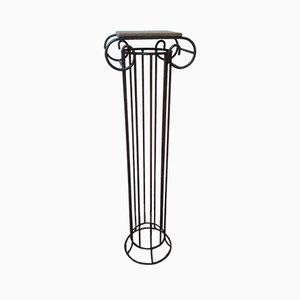 Vintage Iron Column Pedestal