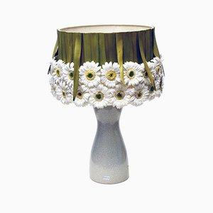 Lámpara de mesa Marguerite de cerámica, años 70