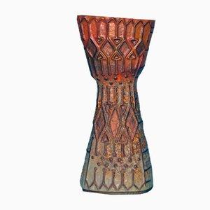 Italienische Keramikvase von La Lucciola, 1960er