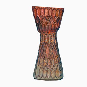 Jarrón italiano de cerámica de La Lucciola, años 60