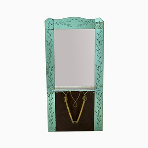 Mid-Century Italian Modern Entrance Mirror by Pier Luigi Colli, 1950s