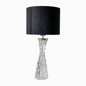 Große RD-1477 Tischlampe aus Kristallglas von Carl Fagerlund für Orrefors, 1960er