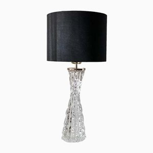 Large Crystal RD-1477 Table Lamp by Carl Fagerlund for Orrefors, 1960s