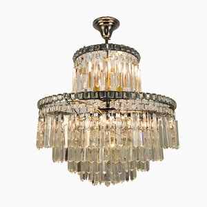 Mid-Century Italian 9-Light Chandelier