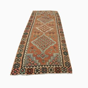 Mid-Century Turkish Wool Kilim Rug