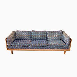Sofa aus Nussholz von Folke Ohlsson für DUX, 1960er