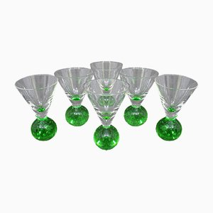 Swedish Aperitif Glasses by Ekenäs, 1970s, Set of 6