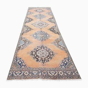 Tappeto da corridoio Oushak vintage
