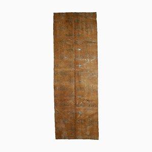 Tappeto da corridoio vintage tibetano, anni '80