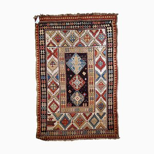 Antique Kazak Rug, 1880s