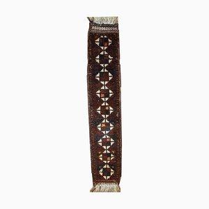 Tappeto antico decorato, Medio Oriente, fine XIX secolo