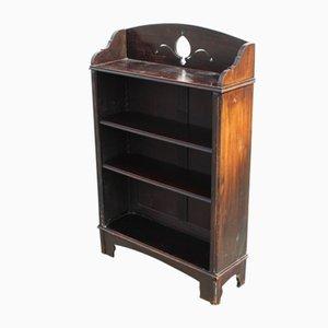 Kleines offenes Bücherregal aus Eichenholz, 1940er