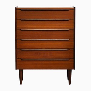Mid-Century Danish Teak Chest of Drawers, 1970s