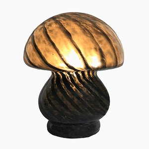 Black Table Lamp, 1970s