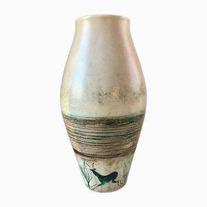 Jarrón vintage de cerámica de Joal, años 50