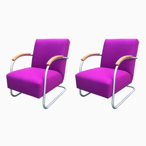 FN21 Cantilever Chairs by Mucke Melder, 1930s, Set of 2