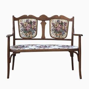 Vintage Sitzbank aus Holz von Fischel, 1920er