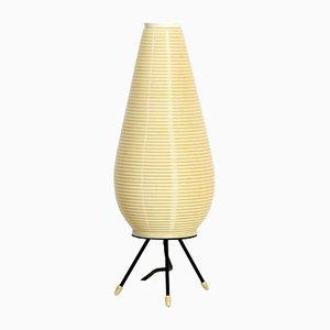 Lámpara de mesa trípode Mid-Century moderna grande de Heifetz Rotaflex