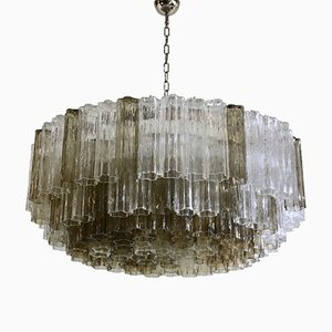 Tronchi Murano Glass Chandelier, 1988