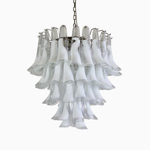 Murano Glass Saddle-Form Chandelier, 1988