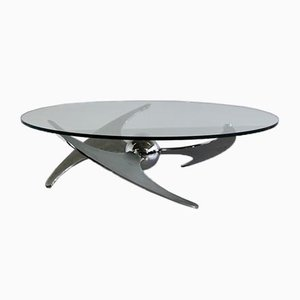 Propeller Coffee Table by Luciano Campanini, 1973