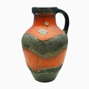 Jarrón alemán de cerámica de Gerda Heuckeroth para Carstens, años 60