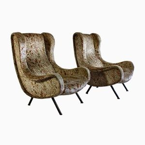 Senior Armchairs by Marco Zanuso for Arflex, 1957, Set of 2