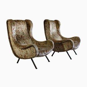 Senior Sessel von Marco Zanuso für Arflex, 1957, 2er Set