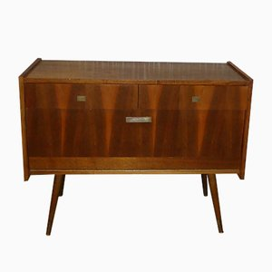 Small Walnut Sideboard, 1960s