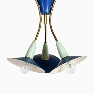 Lámpara colgante vintage, años 50