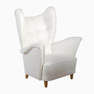 Scandinavian Wingback Easy Chair, 1952
