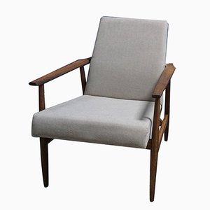 Grauer Mid-Century Sessel von H. Lis, 1970er