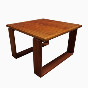 Table Basse Mid-Century en Teck, Danemark, 1960s