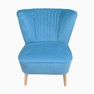 Blue Cocktail Chair, 1960s