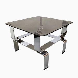 Vintage Chrome Steel Lounge Table, 1970