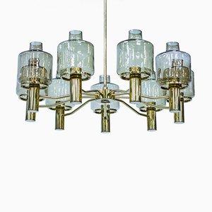 Lámpara de araña Prior sueca de Hans Agne Jakobsson, años 60