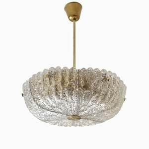 Embassy Crystal Chandelier by Carl Fagerlund for Orrefors, 1960s