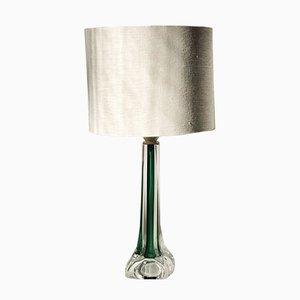 Grüne moderne Mid-Century Tischlampe von Paul Kedelv für Flygsfors