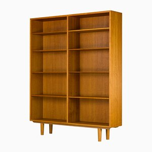 Danish Oak Bookshelf by Børge Mogensen for FDB & C.M. Madsens, 1969