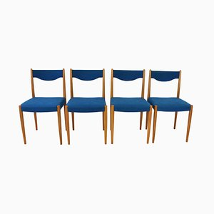Mid-Century Stühle, 1960er, 4er Set